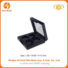China supplier private label empty container for eyeshdow eyeshdaow box eyeshadow container