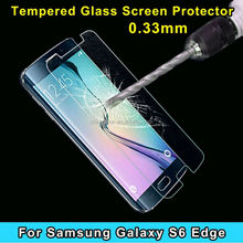 for Samsung Galaxy S6 Edge Clear/Frosted Screen Protector,Clear Screen Protector for S6 Edge, Glass Screen Protector for S6 Edge