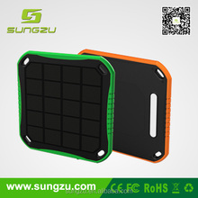 Executive 1.5A Solar Phone Charger with Two USB port & quick charging solar power bank