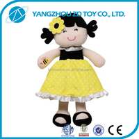 2015 new high quality fluffy baby baby toys love doll