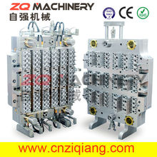 72 Cavities PET Preform Mold with Hot Runner System for variety custom molded part