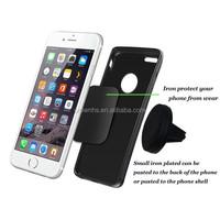 Plastic magnetic car holder car air vent phone holder