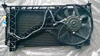 Rover 200 25 Condenser/fan & frame assembly JRB106210