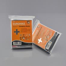 High quality aluminum foil survival blanket