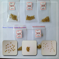 Rough Uncut HPHT Man Made /Synthetic/ Artificial Single Crystal Diamond with Competitive Price