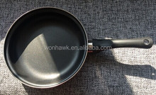 20cm chinese frying pan with round cheap red painting