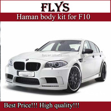 Factory price!!!Haman body kit for F10 5 series. fiber glass material. Perfect fitment