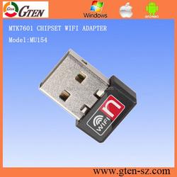 150Mbps 2.4GHz wireless adapter 802.11n Ralink MT7601 rj45 wireless network adapte