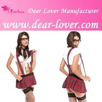 Sexy Bad Girl School Girl and Teacher Dance Costumes