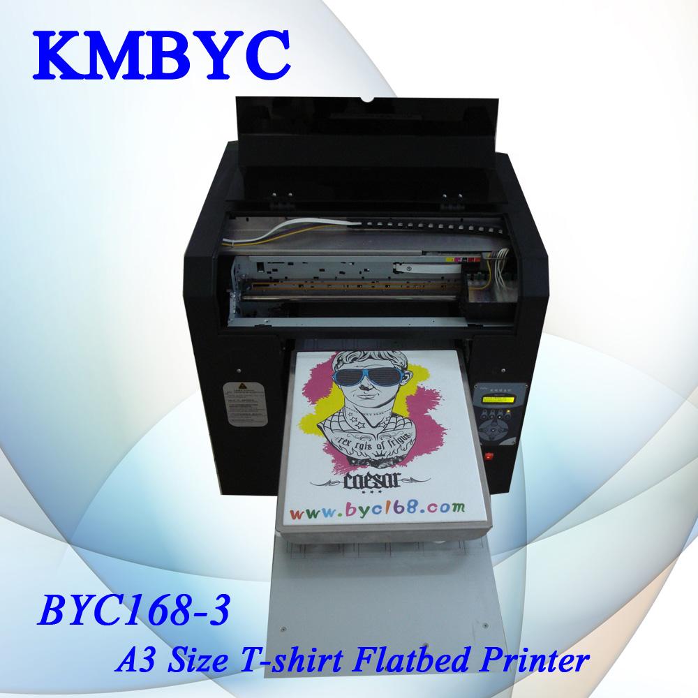 A3 digital inkjet printing machine for diy t shirt design for Inkjet t shirt printing