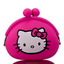 2015 customized top quality silicone coin purse personalized mini coin purse funny small animal shaped unique coin purse
