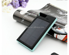 outdoor travel 12000mah waterproof solar energy mobile phone charger