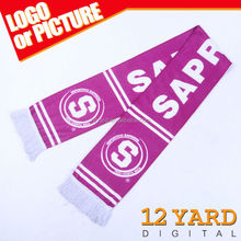 Hot sell sports souvenirs shawl&sport polyester scarf for sport gift