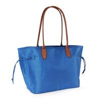 Microfiber Nylon Shopping Bag With PVC Handle