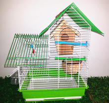 Decorative House Bird Feeder Shape Wholesale metal Bird Cages