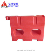 NewWay Useful water filled road safety barrier plastic road barrier made in China