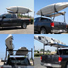 Universal Roof J-Bar Rack Kayak Boat Canoe Car SUV Top Mount Carrier 2 Pairs