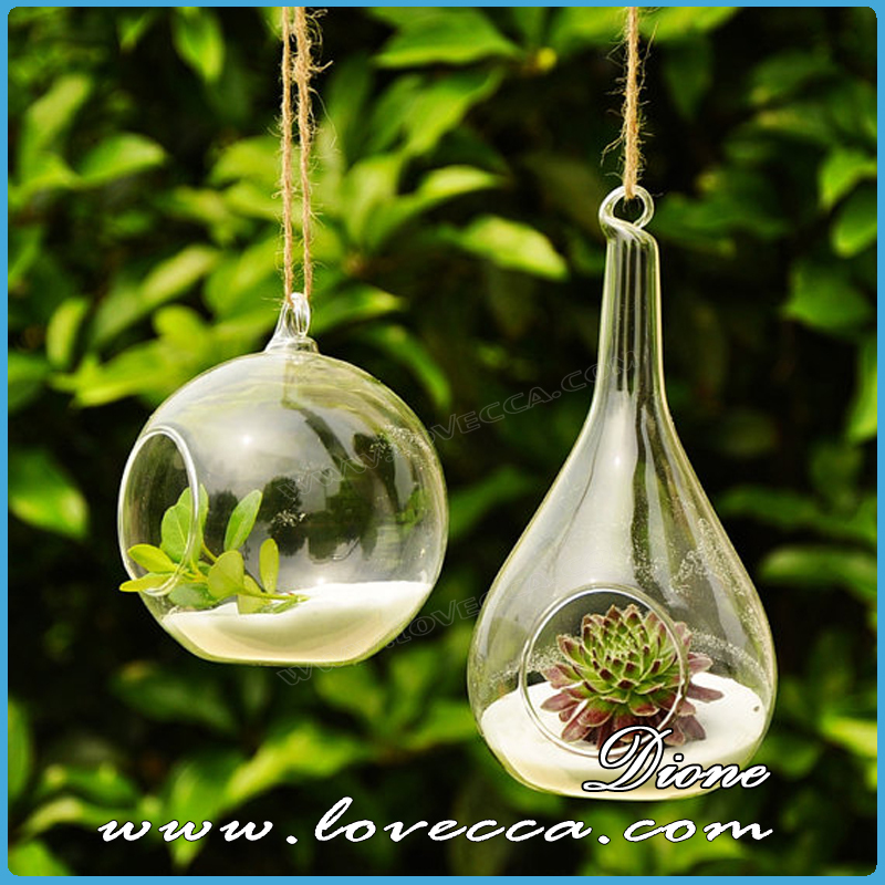 sha usine air terrarium suspendus verre globe air plantes tillandsia poire verre. Black Bedroom Furniture Sets. Home Design Ideas