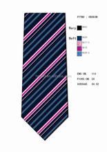 Fashion Design Custom Made Silk Woven Stripe Necktie