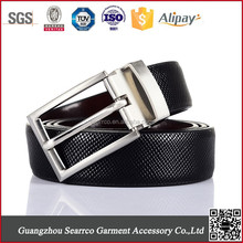2015 newest Fashion Metal pu leather belt for export high quality for man