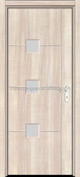 2015 Latest popular interior black walnut mdf wood door