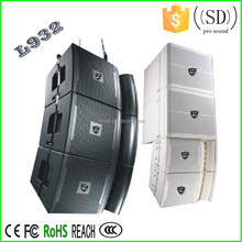 Dj sound system outdoor powered speaker box line array system