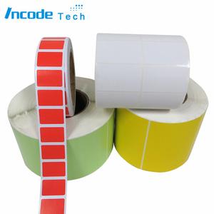 الحرارية نقل ورقة الطباعة الملونة لفة زجاجة البوليستر التسمية ملصقا
