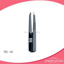 Cute design customized top quality fashionable eyebrow tweezers