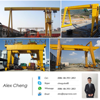 Maintenance and Pulling product Using Muilty Function Gantry Crane 5 Ton