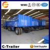 3 axles flatbed full trailer in Djibouti