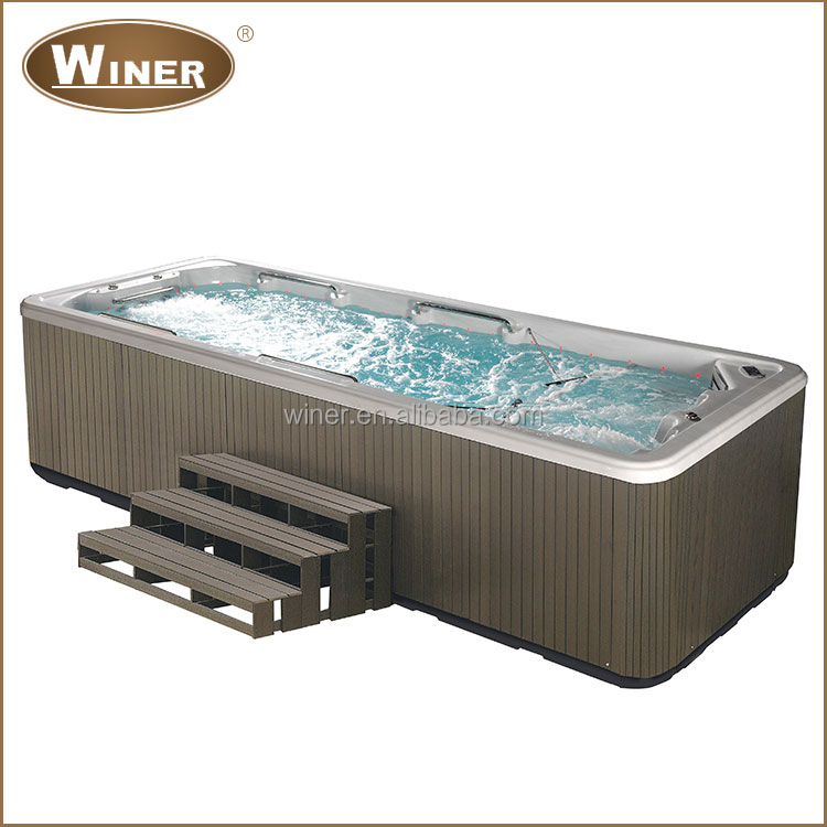Ce Approved Balboa System Rectangular Acrylic Above Ground Used Swimming Pool For Sale Buy