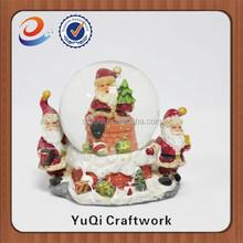 2015 fashionable Chrismas crystal ball decoration customized wholesale