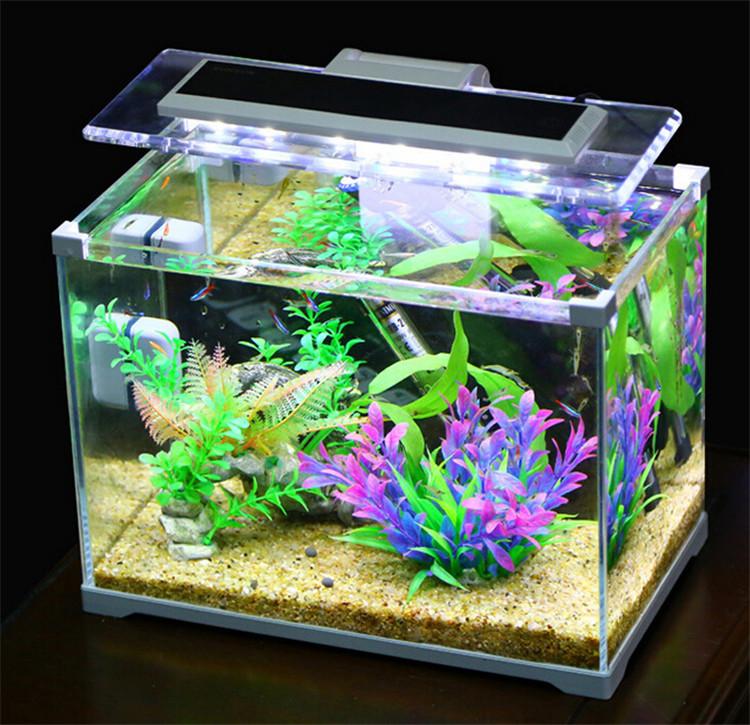 Aquarium Sunsun Low Iron Glass Cube Garden Mini Fish Tank