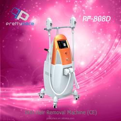 2015 high quality Vertical IPL SHR E-light hair removal equipment ipl machine for hot sale