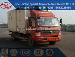 foton refrigerated van and truck for sale