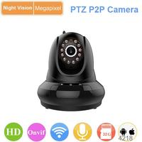 pan and tilt hd wireless ptz mini dome ip camera