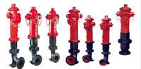 factory price Outdoor landing fire hydrant dn100,antique portable fire hydrant for sale