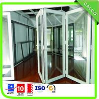 Shenzhen factory cheapest folding and sliding,bi fold door with NewZealand Alumex Hardware