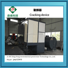 jiangxi Dingfeng Brand pyrolysis waste tyre to oil machine with ISO