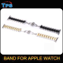 2015 cheap wrist watch strap metal watch band for iwatch and apple watch 38mm or 42mm