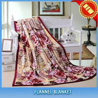 FREE SAMPLE 100% polyester super soft flannel coral fleece types of blanket