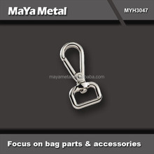MaYa Metal custom high quality small stainless steel snap hook for bags