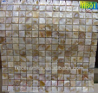 mother of pearl mosaic tile HB01