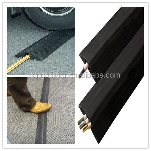 rubber floor cord cover cable covers rubber cable protector trade assurance buy cable. Black Bedroom Furniture Sets. Home Design Ideas