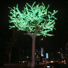 New product christmas led pine light in winter for holiday