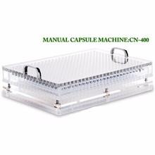 400 Capacity Manual Capsule Filling Machine 000#-5# CN-400