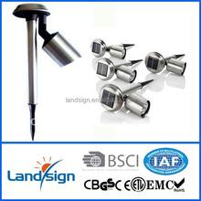 2015 outdoor garden lighting line solar garden light components for garden/outdoor/pathway/walkway solar spot light