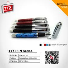 Adversing ballpoint pen,metal ball pen promotion