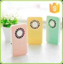 Wholesale mini portable small size powerful quiet plastic pocket cooling fan