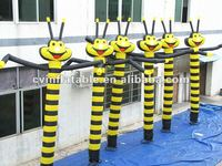inflatable advertising brilliant bees sky dancer /crowd pleaser /attention grabber